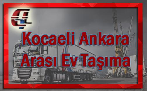 Kocaeli Ankara arası evden eve nakliyat.