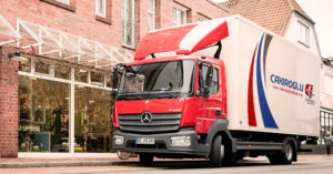 Almanya eşya taşımak.