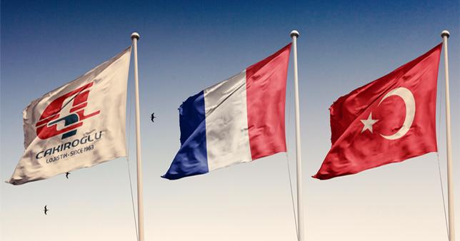 Fransa zati eşya taşımacılığı.